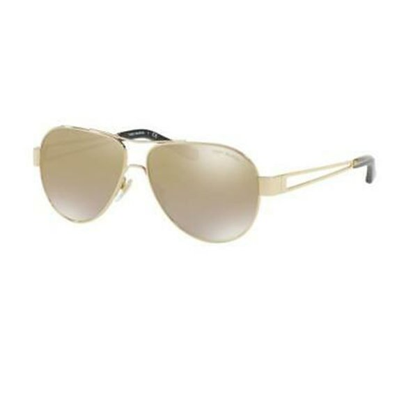 Tory Burch Aviator Style Gold Gradient Lens.